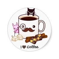 Coffee Sticker
