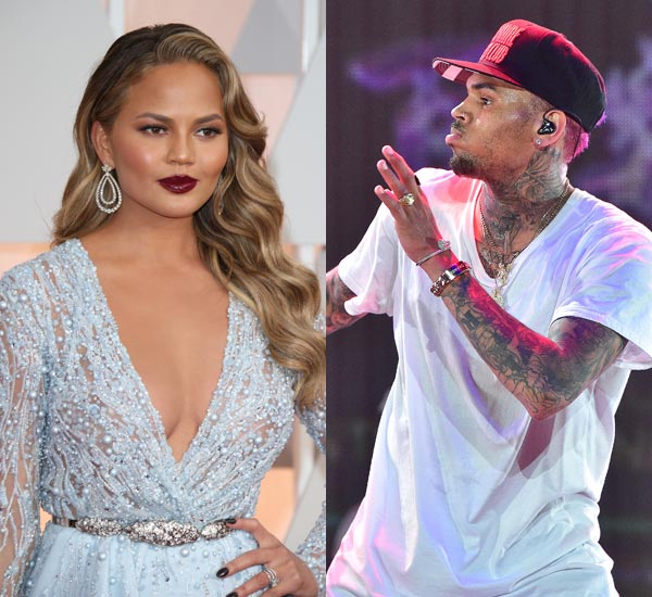 Chrissy teigen chris brown