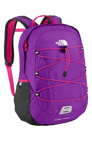 North face happy camper backpack pink