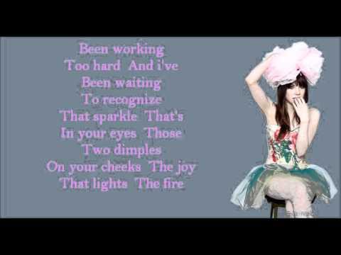 Carly rae jepsen bucket lyrics