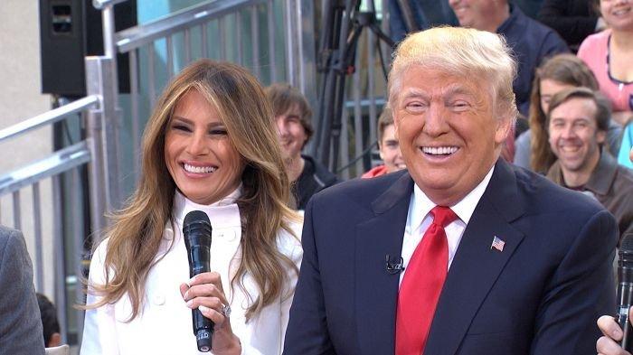 Foto istri donald trump