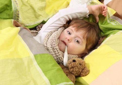 ОРВИ у ребенка с повышенной температурой