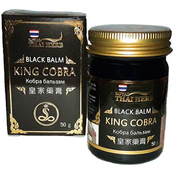 Черный тайский бальзам с коброй