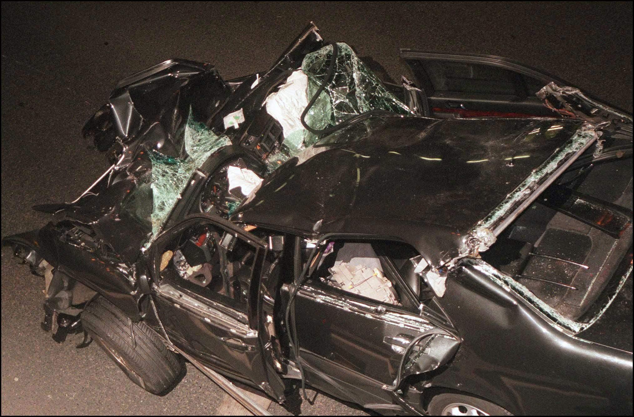 Princess diana crash photo