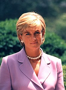 Diana smiling
