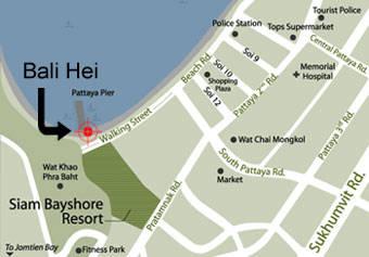Как добраться до пирса Бали Хай - Паттайа