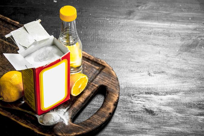 Сода и средства для её гашения