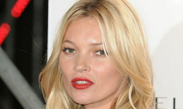 Kate moss lazy eye