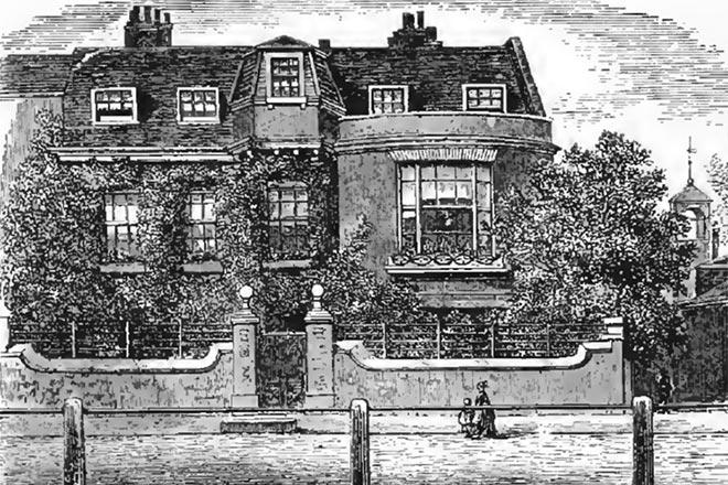 Дом Майкла Фарадея в Хэмптон-Корте
