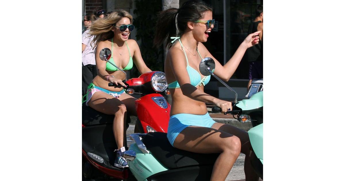 Vanessa hudgens and selena gomez bikini