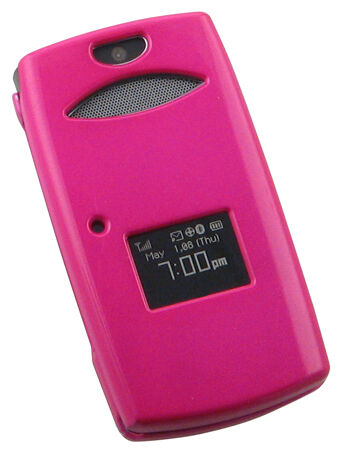 Sanyo pink cell phone