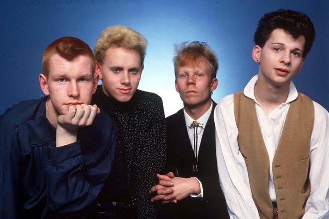 Группа «Depeche Mode» в начале творчества