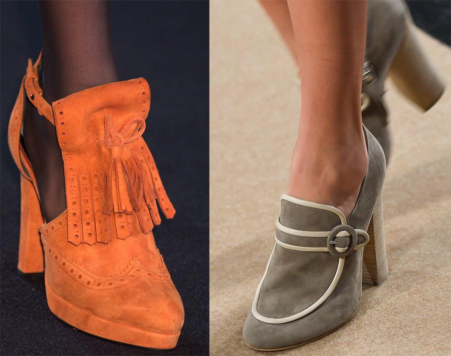 Осенние ботинки женские 2016