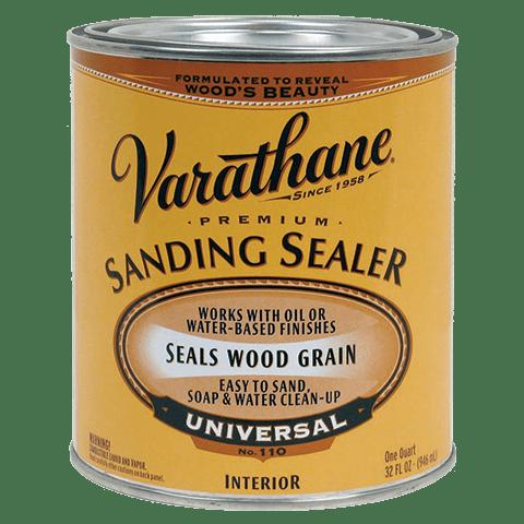 Varathane wood sealer