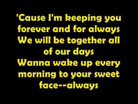 Shania twain lyrics forever and always