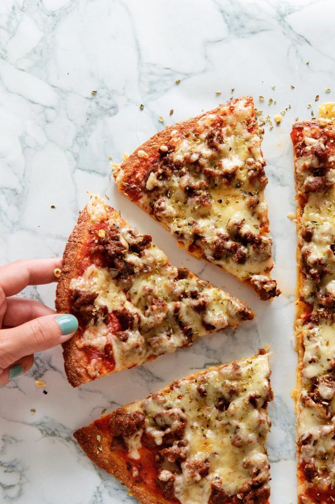 Пицца замороженная в микроволновке