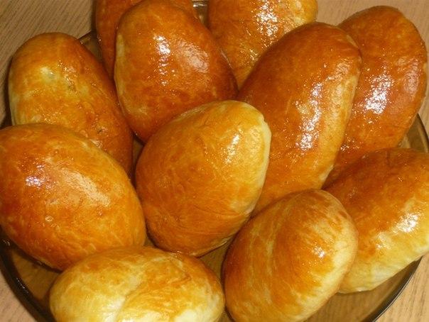 Пирожки на кефире в духовке рецепт духовке