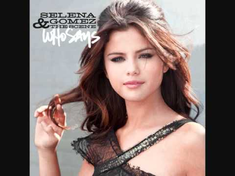 Selena gomez who says mp3 song