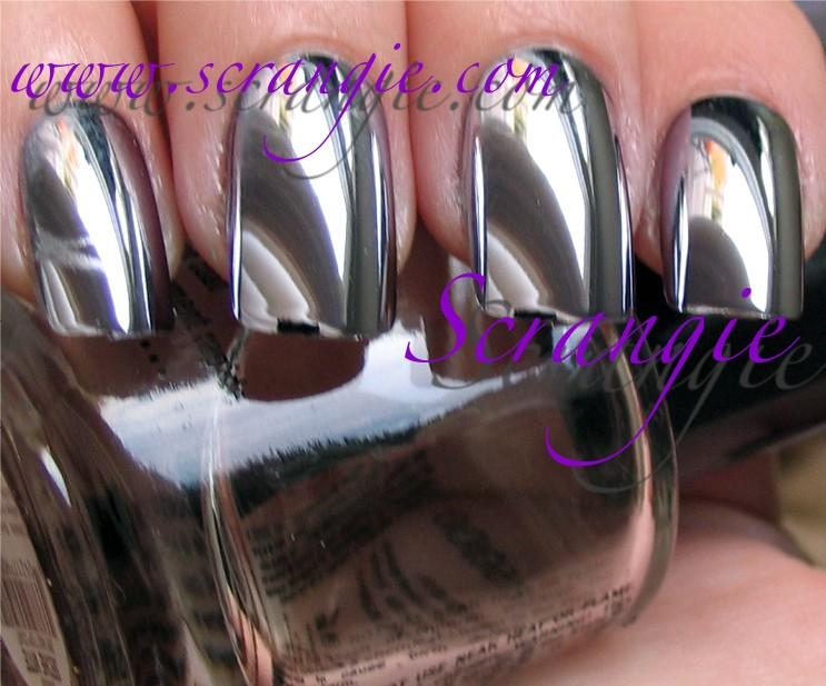 Nail bliss chrome metallic nails