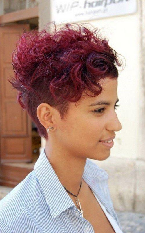 стрижки на короткий вьющийся волос