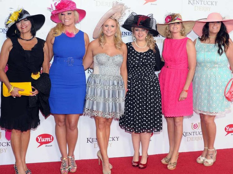 Celebrities at the ky derby