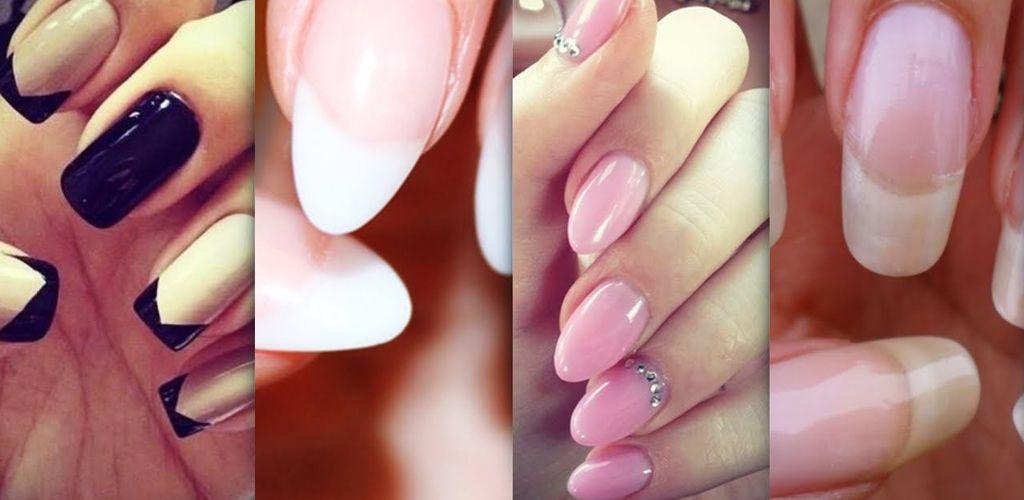 Acrylic nails types