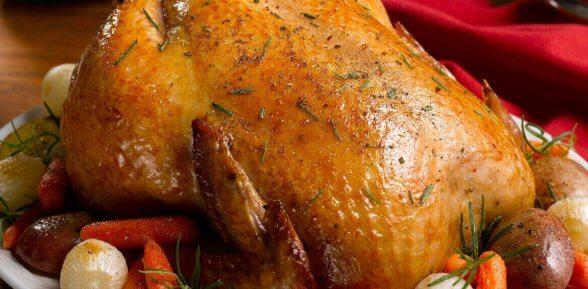 Сколько готовится курица в духовке