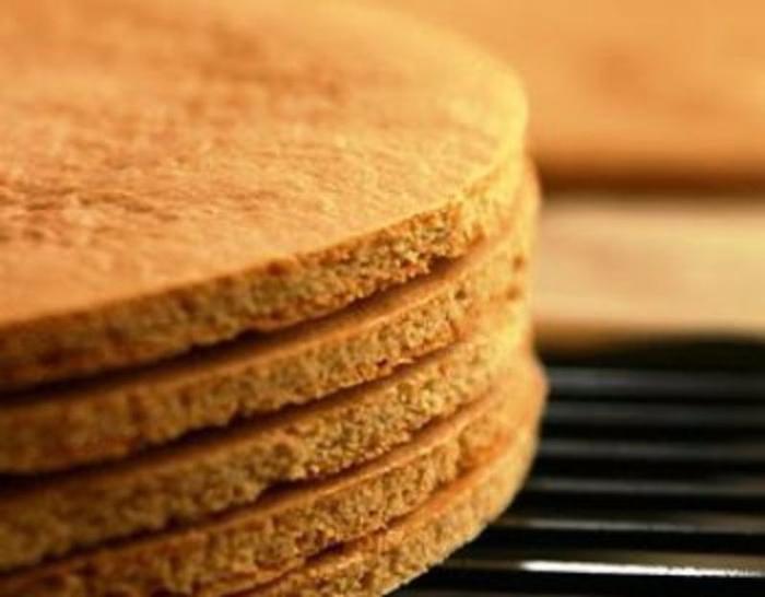 Самые простые коржи для торта
