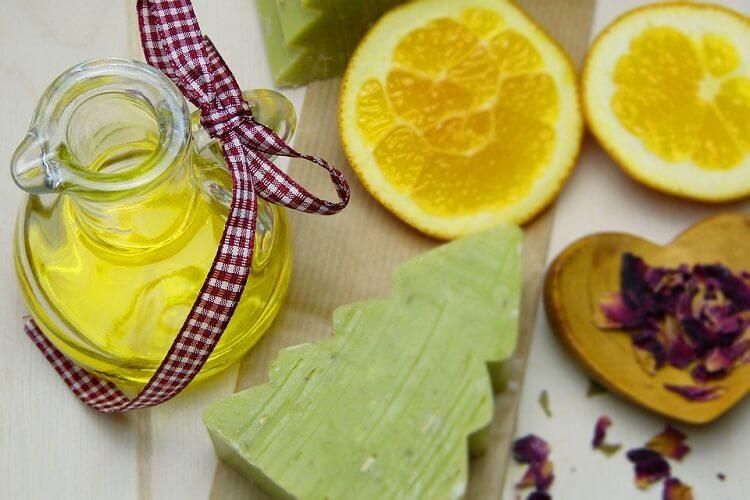 Оливковое мыло