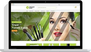 Realizare magazin online produse bio