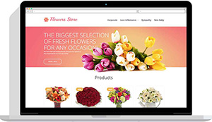 Realizare website florarie online