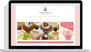 Realizare website cofetărie online