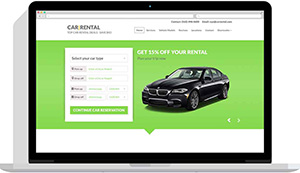 Realizare website închirieri auto