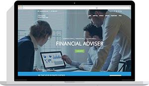 Realizare website firmă consultanță