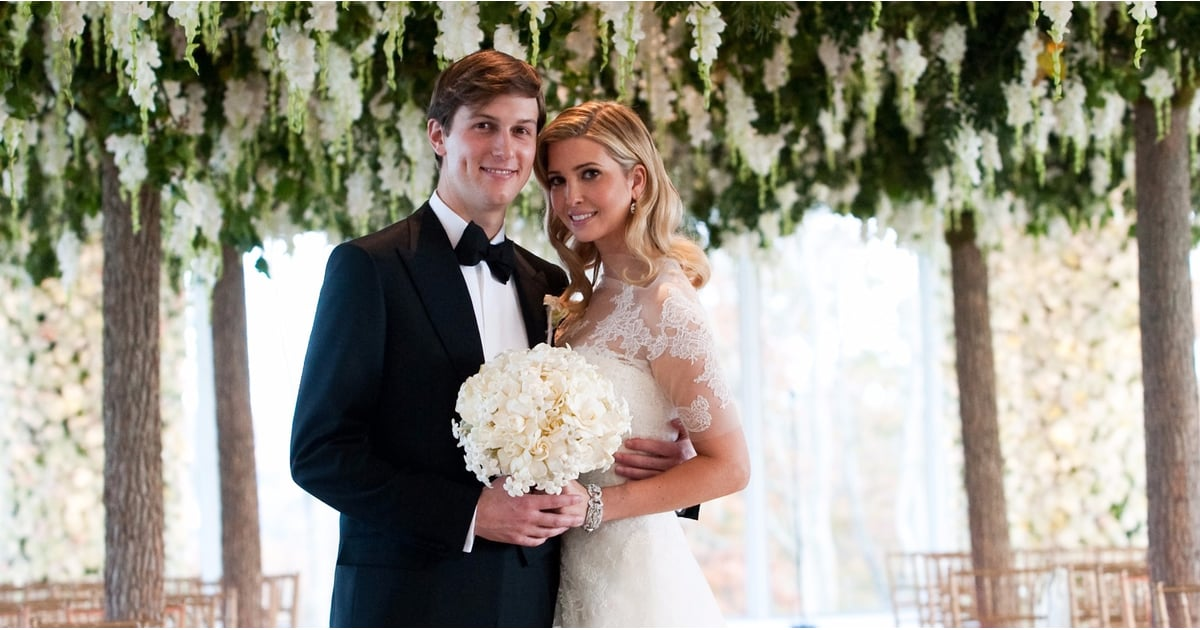 Ivanka trump wedding dress look alike