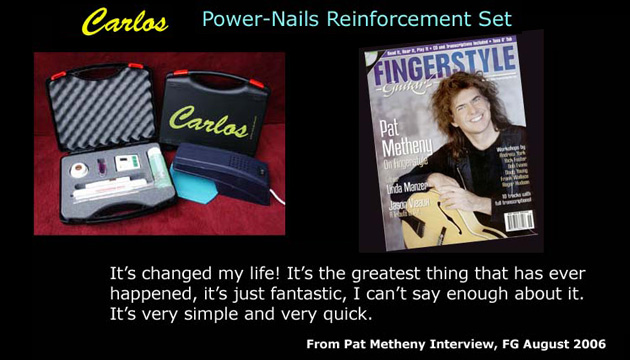 Carlos power nails