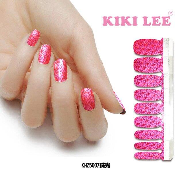 Lustre nails