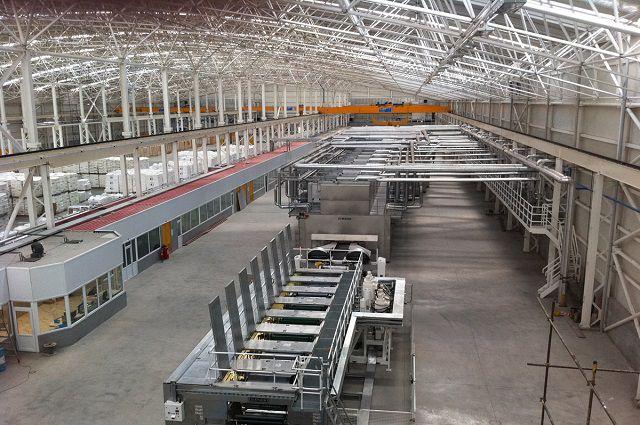 Завод по изготовлению пленки