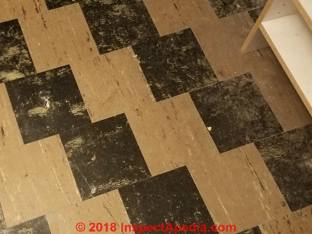 How to seal asbestos tiles in basement