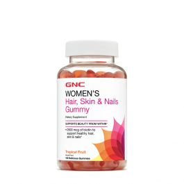 Gnc hair skin and nails gummies