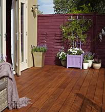 Cuprinol clear deck & wood seal