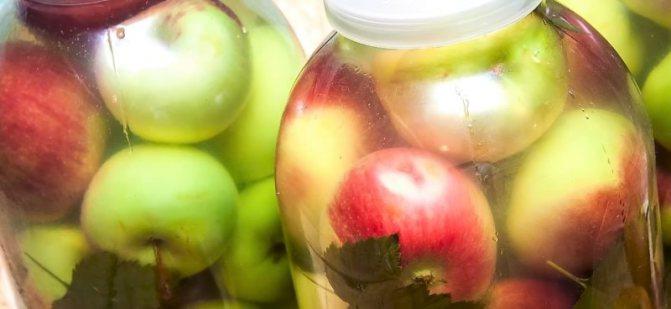 Как мочить яблоки