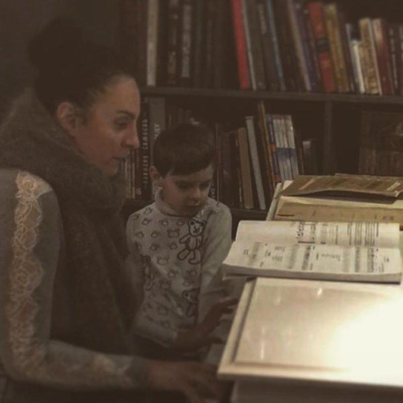 Елена ваенга фото ее сына