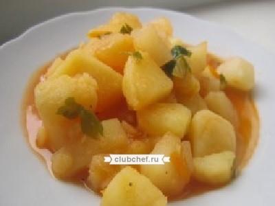 Картофель тушеный в мультиварке рецепты с фото
