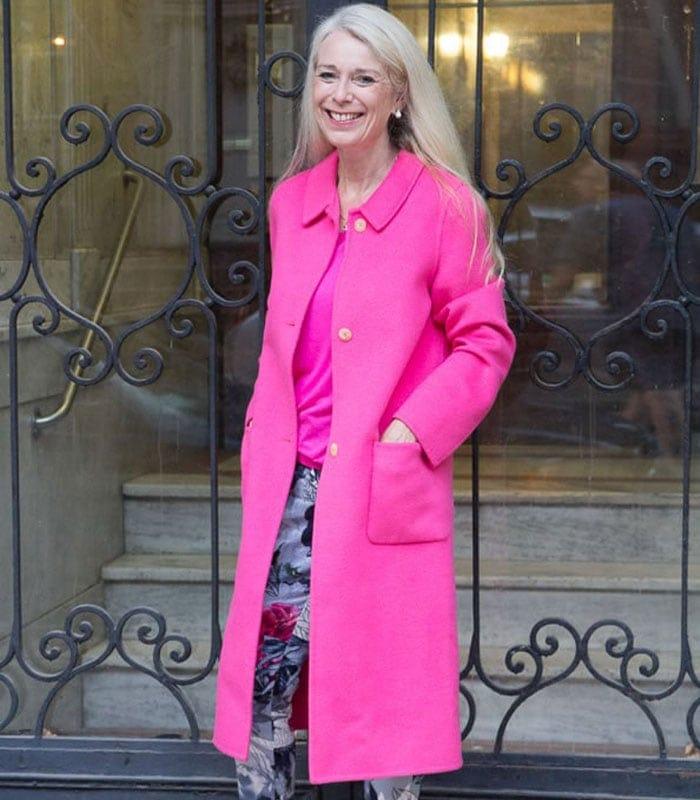 Hot pink winter coats
