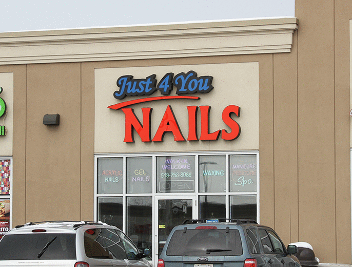 Just 4 you nails brantford