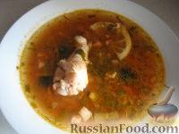 Фото к рецепту: Солянка сборная с куриными крылышками