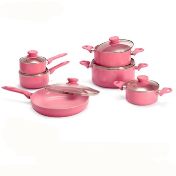 Pink kitchenware set