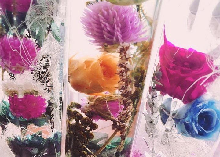 Мастер класс цветы в глицерине