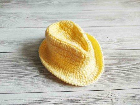 Связать шапочку крючком для девочки